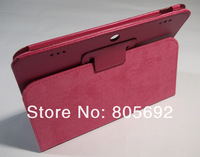 20PCS Stand Leather Case  For Lenovo Pad 2109 Case,Folding PU Tablet Cover For Lenovo 2109 By DHL EMS