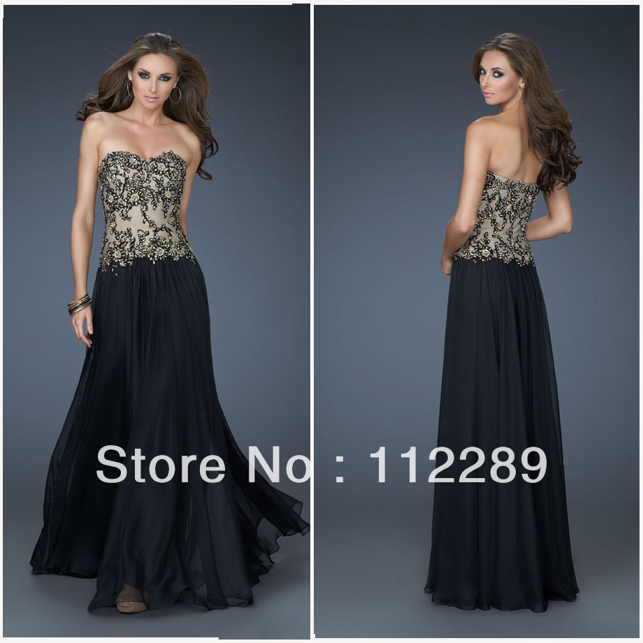 2013 New Fashion Black Hand Made Lace Applique Tea Length Evening Dresses HZ045(China (Mainland))