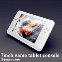 New and portable 7 inch game player  android console support Wifi function best children gift