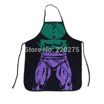 Funny Apron - Novelty Apron - Kitchen Apron -The Hulk Man Muscle Man Apron