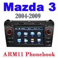 Car DVD For Mazda 3 Mazda3 AXELA 2004-2009 Auto Multimedia  Audio Video Player High Quality Free Shipping