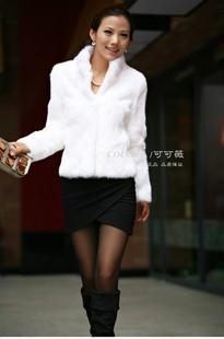 Free shipping Faux fur coat fur vest 2012 autumn new arrival sweater vest short design women's