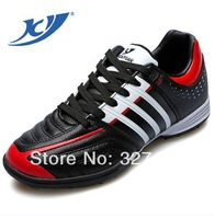 Soccer Shoes Indoor Football boots Athletic Training/Match Flats Running Shoes  Free Shipping 2017-2-1