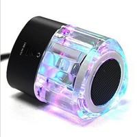 Triangle crystal mini speaker lc-03 portable card speaker tf card usb flash drive radio