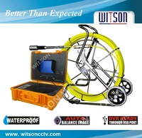 WITSON Special Promotion Price! TNT Freeshipping 120M (400ft) Sewer Pipe Wall Snake Video Camera DVR System W3-CMP3288-120