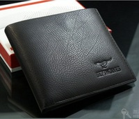 Free shipping 2013hot sale wallet men, leather wallet men,wallet for wen,1pce wholesale, quality guarantee  QPL-26