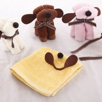 Free Shipping, New Design Fashion&Romantic Art Dog Towel for Party/Wedding/Gifts, Drop Shipping, PC0015