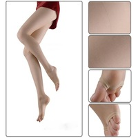 compression Thigh high stockings,Women's Pantyhose Open Toe Compression Stockings 2pairs/lot