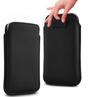 HK Free Shipping Leather PU Pouch Case Bag for oppo find 5 Cell Phone Accessories