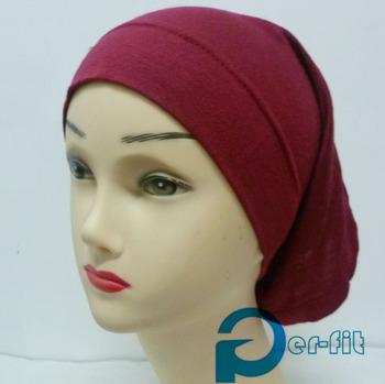head tube turban Underscarf free ship hijab cap Hijab under hijab 6 Colours 24pc/lot free ship