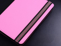 Frees shipping, 8 inch tablett case, tablet cover, PU material, with magic stand, multi color.