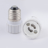 E27 to gu10 adapter High quality  material fireproof material socket adapter