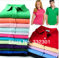 Free shipping 2013 New fashion summer Men's shirts Short-sleeved for men lovers casual t shirt with crocodile LOGO