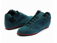 2013 New British Style Frosted Flatform Leather Men's Fashion Leather casual shoes free shipping LS037