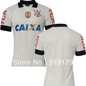 Thailand quality 2013 Corinthians Home soccer jersey  Wholesale Corinthians  SOCCER JERSEY