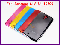 Wholesale New electroplating  Replacement Back Cover housing Battery Door assembly for Samsung SIV S4 I9500 A362