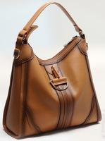 2013 European fashion hand made hollow genuine leather handbag women shoulder bag