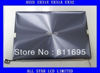 Brand new CLAA133UA02 HW13HDP101 For ASUS Ultrabook UX31E UX31A UX32 Laptop Screen with  cover  together  Free shipping
