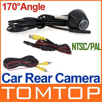 Car Rear View Camera Reversing Backup waterproof support PAL&NTSC system free shipping Wholesale
