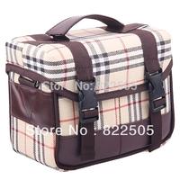 Deluxe DSLR Camera Shoulder Bag Photo Video Gadget Bag Lattice package YX-21 For Canon Nikon DSLR Free Shipping + Drop Shipping