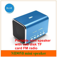 Music Angel MD05B laptop computer pc mini speaker with FM  radio , TF /micro sd/ usb multimedia  speaker