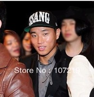 Factory price sell K pop star singer gary ssang hat flat brim ssang hats hiphop fashion  Free shipping