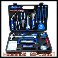 92 Pcs High Quality Household Combination Tool Set Hand Tool Kit