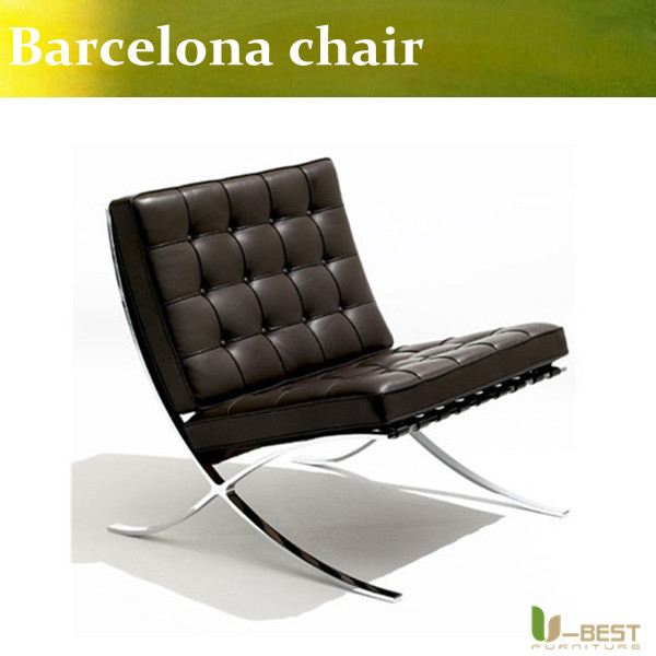 Barcelona chair,Barcelona Chair with ottoman ,hot sell Barcelona chair and ottoman,Genuine leather Barcelona chair(China (Mainland))