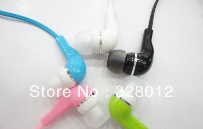 Free Shipping Wholesale 10pcs/lot 3.5mm earphones For Sony MP3 MP4 iPod New Earphone Headset Earbud High Quality(China (Mainland))