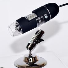 De alta qualidade New 2MP USB 8 LED Digital Microscope endoscópio Magnifier 500X Camera grátis frete(China (Mainland))