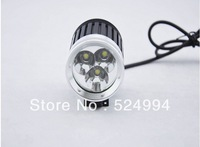 New 4200 Lumen 3x CREE XM-L T6 LED Headlight Headlamp Bicycle Bike Light Waterproof Flashlight