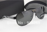 2013 New Arrivals Cool Men Loved Fashion Polarized Sunglasses High Quality Brand Driving Sun Glasses + Original Box FreeShipping