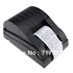 High Quality USB 58mm Pos printer Thermal Receipt Printer 70mm/sec Support with 26 international language and low noise(China (Mainland))