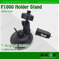Free Shipping Hot Design Original Car Mount Holder Stand Cradle Black For Mobile-i F1000 Full HD Car DVR Camera #A003