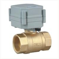 2 Wires NPT/BSP 1'' Brass Electric Ball Valve DC12V/24V DN25 motorized ball valve