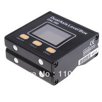 Jingyan DXL360 Digital LCD Protractor Inclinometer Angle Meter Single and Dual Axis Level Bar