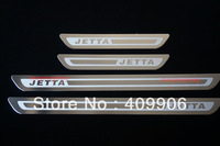 New Stainless Door Sill Scuff Plate For VW Jetta 6 MK6 2011-2013 ULTRA SLIM