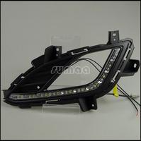 Hyundai Elantra, MD Avante LED Daytime Running / Driving Lights Kits,High Quality LED DRL,Super-bright Headlights,turnning light