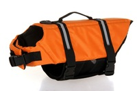 FREE SHIPPING Dog Life Jacket & Dog Life Vest & Pet Life Jacket & Pet Life Vest XS/S/M/L/XL 20PCS/LOT ORANGE