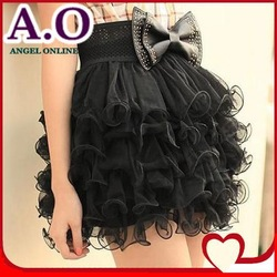 5% off 2 pcs 2013 Fashion tutu skirt women New Fairy Style ladies' girls' 5 layers Tulle Bouffant Short SKirts 2 colors(China (Mainland))