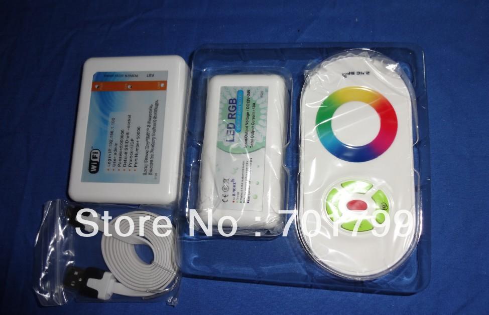 Led wifi adaptor+ rgb tocco di controllo ricevitore