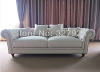 Cotton linen fabric three seaters sofa european three seaters sofa faric sofa