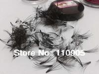 3pcs x Real Human Hair Flare False Eye Lashes, 7P Flare Crazy Eyelashes, 8mm,10mm,12mm,-Free shipping