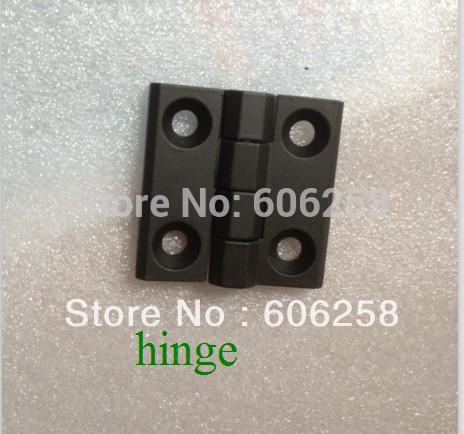 Black alloy hinge / cabinet box hinge / industrial hinge 40mm X 40mm 10pcs