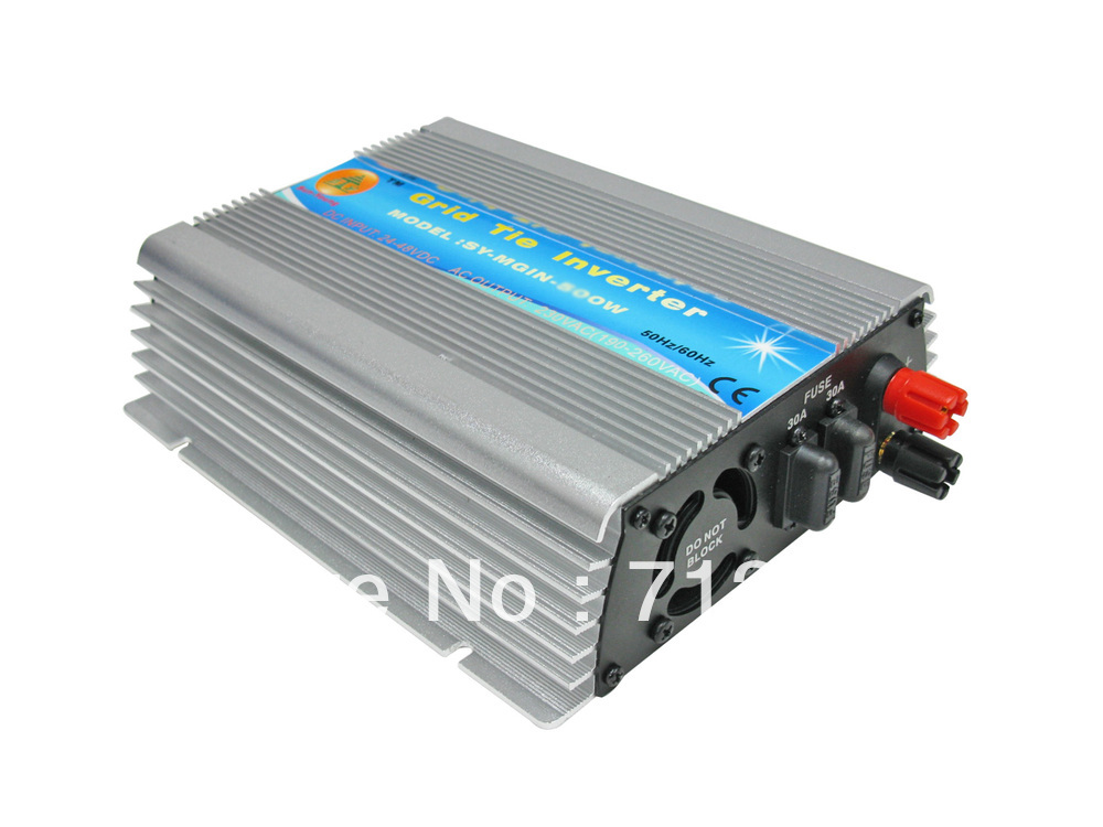 SY 24/36Vmp Solar Panel 600W High efficiency solar grid tie inverter, AC90-260V Pure sine wave power inverterS for solar system(China (Mainland))