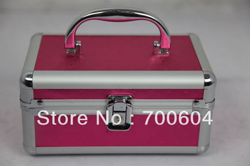 2013 Hot Selling! High Quality Acylic Portable Cosmetic Case, Makeup Box, 1 pcs MOQ, CC013