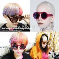 Brand New Women Fashion Designer Round Sun Glasses Vintage Retro Arrow Sunglasses Multi Colors # MM8