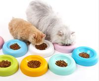 Pet bowl cat basin crumpet tableware bowl for cat and dog