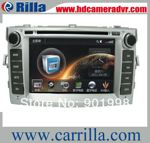High quality 7inch touch screen car dvd player with android system For Toyota verso AD7031(China (Mainland))