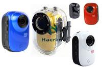 HD1080P Mini Sport Action Helmet Camera DVR Outdoor Mini DV Waterproof Drive Record Camcorder 16-8GB + H.264,Wide angle SJ1000
